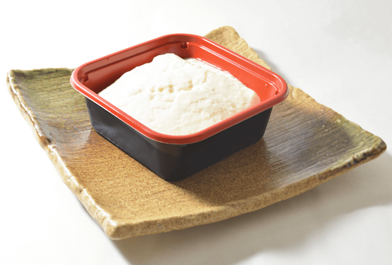 山芋と山葵の寄せ豆腐